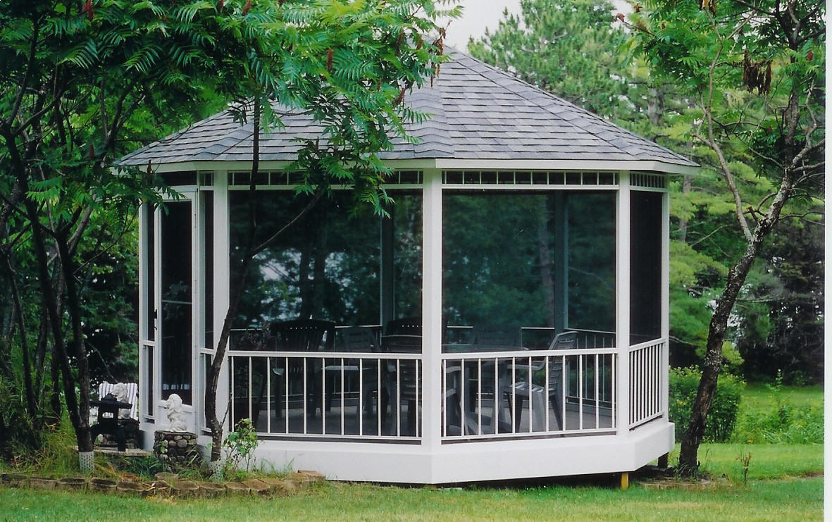 Screened Gazebo | 10x10 Gazebo Screen | 10x10 Screen Gazebo