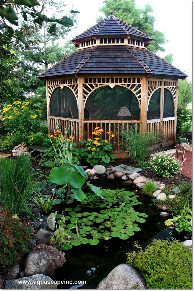 Screened Gazebo | 10x10 Gazebo Screen | 12 X 12 Screened Gazebo