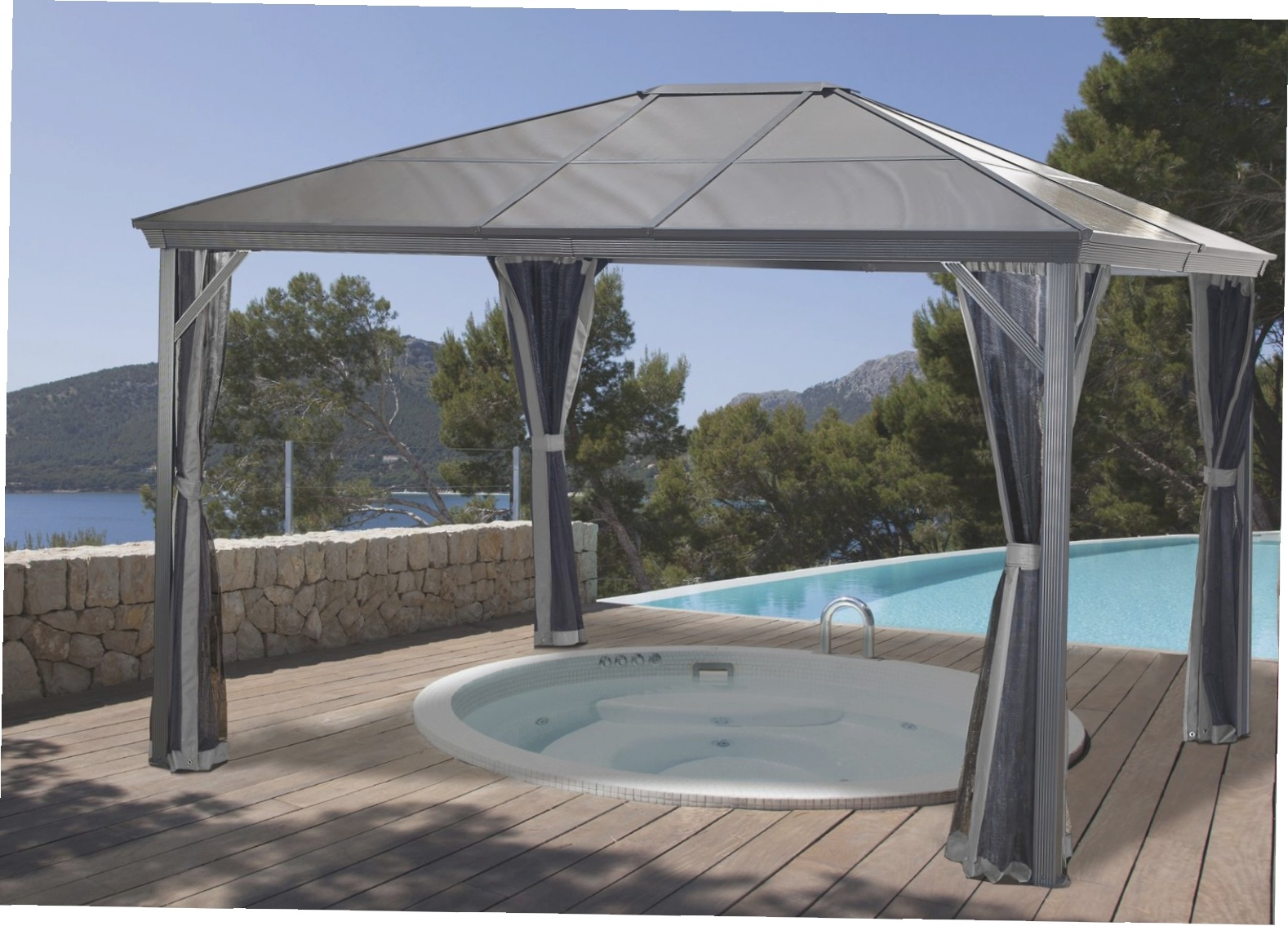 Screened Gazebo | 12x12 Screened Gazebo | Gazebo Walmart