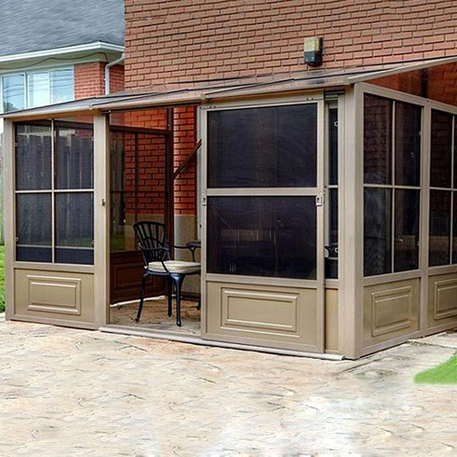 Ideas Nice Screened Gazebo For Stylish Pergola Design
