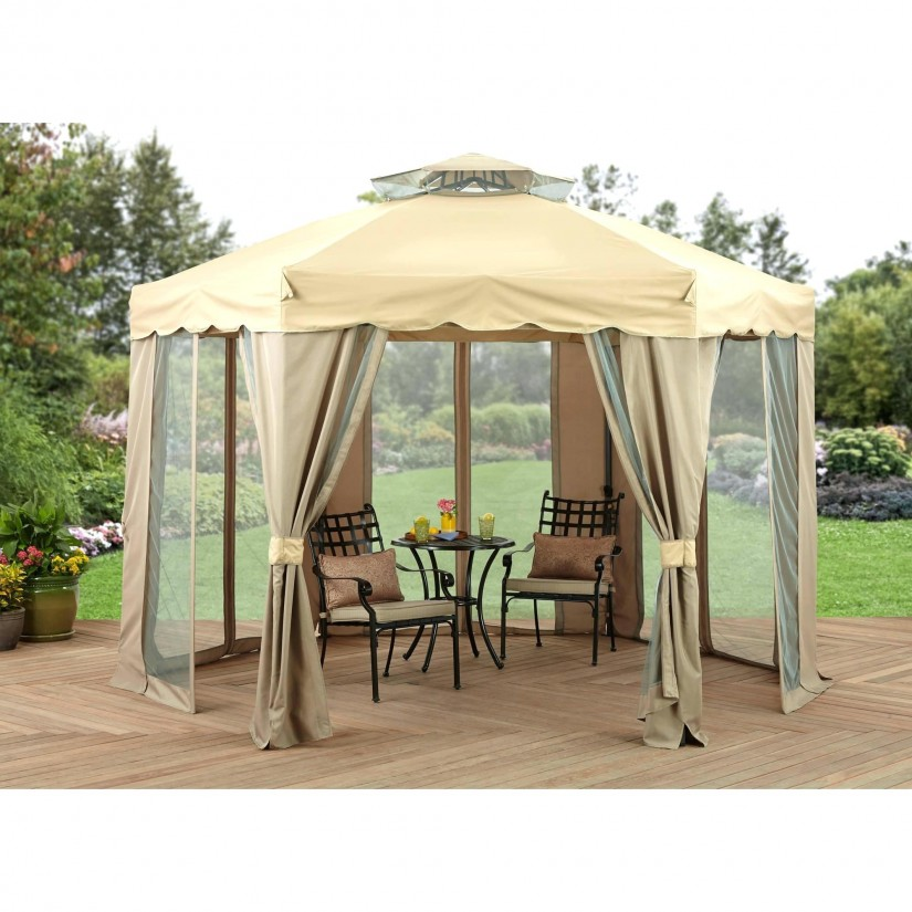 Screened Gazebo | 8 X 10 Canopy Gazebo | Screen Gazebo Home Depot