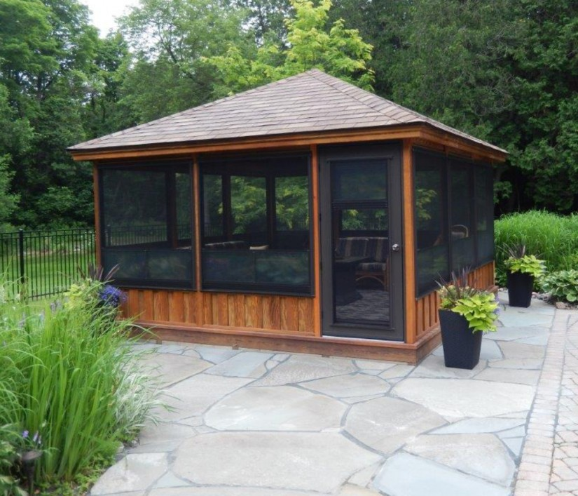 Screened Gazebo | Enclosed Gazebo Kits | Cheap Gazebos