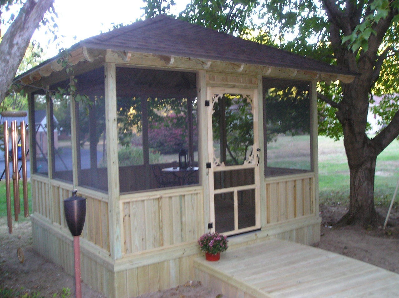 Screened Gazebo for Deck | Looking for Gazebos | Screened Gazebo