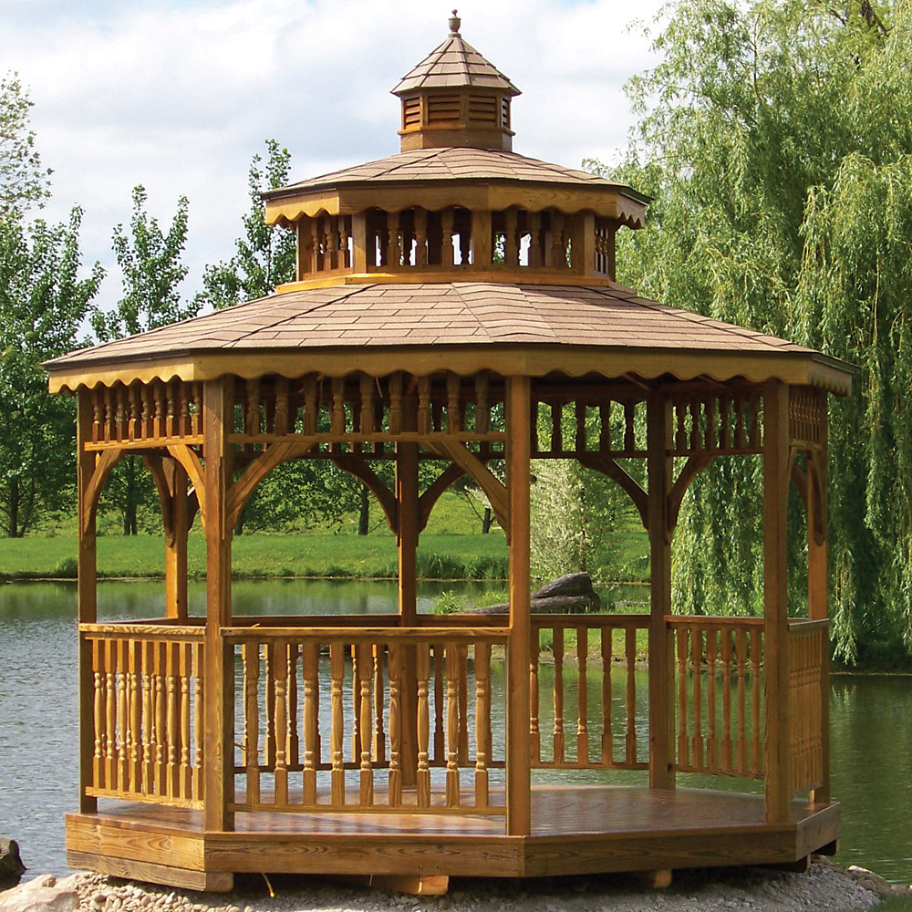 Screened Gazebo | Gazebo 8x10 | Portable Screened Gazebo