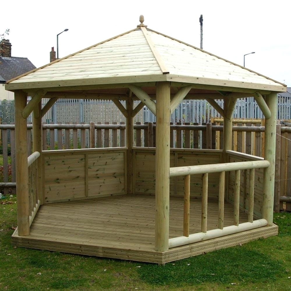 Screened Gazebo | Gazebo Screen Kit | Screened in Gazebo Kits