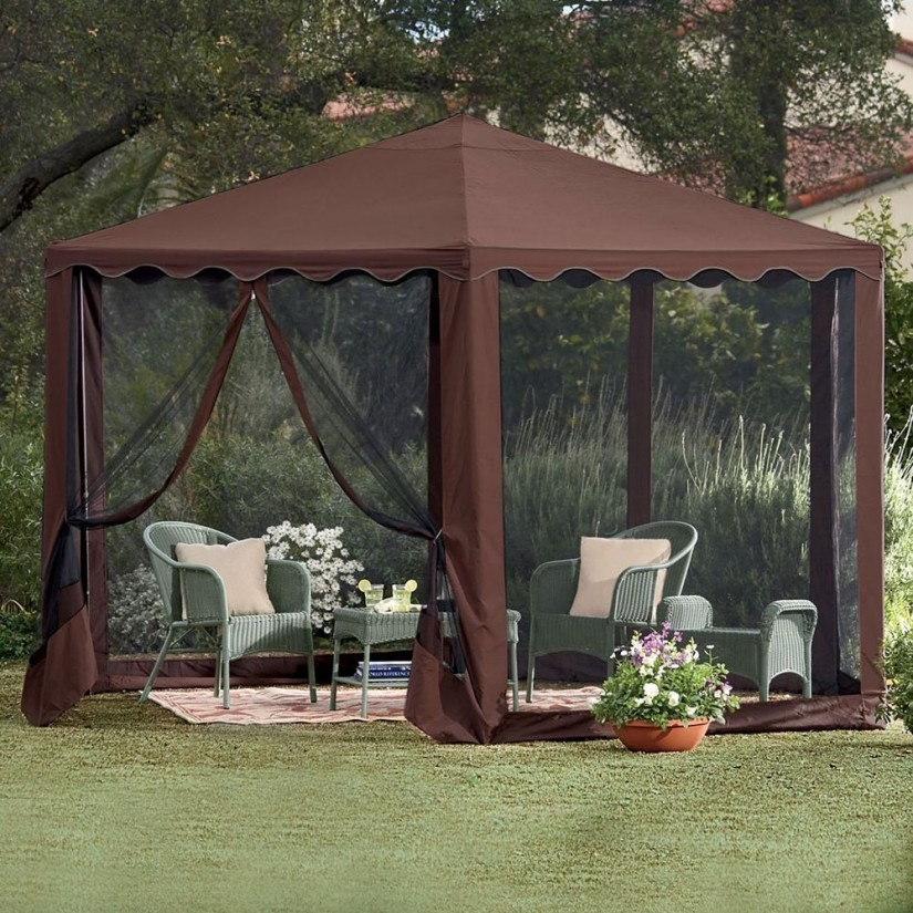 Screened Gazebo | Gazebos At Walmart | All Weather Gazebo