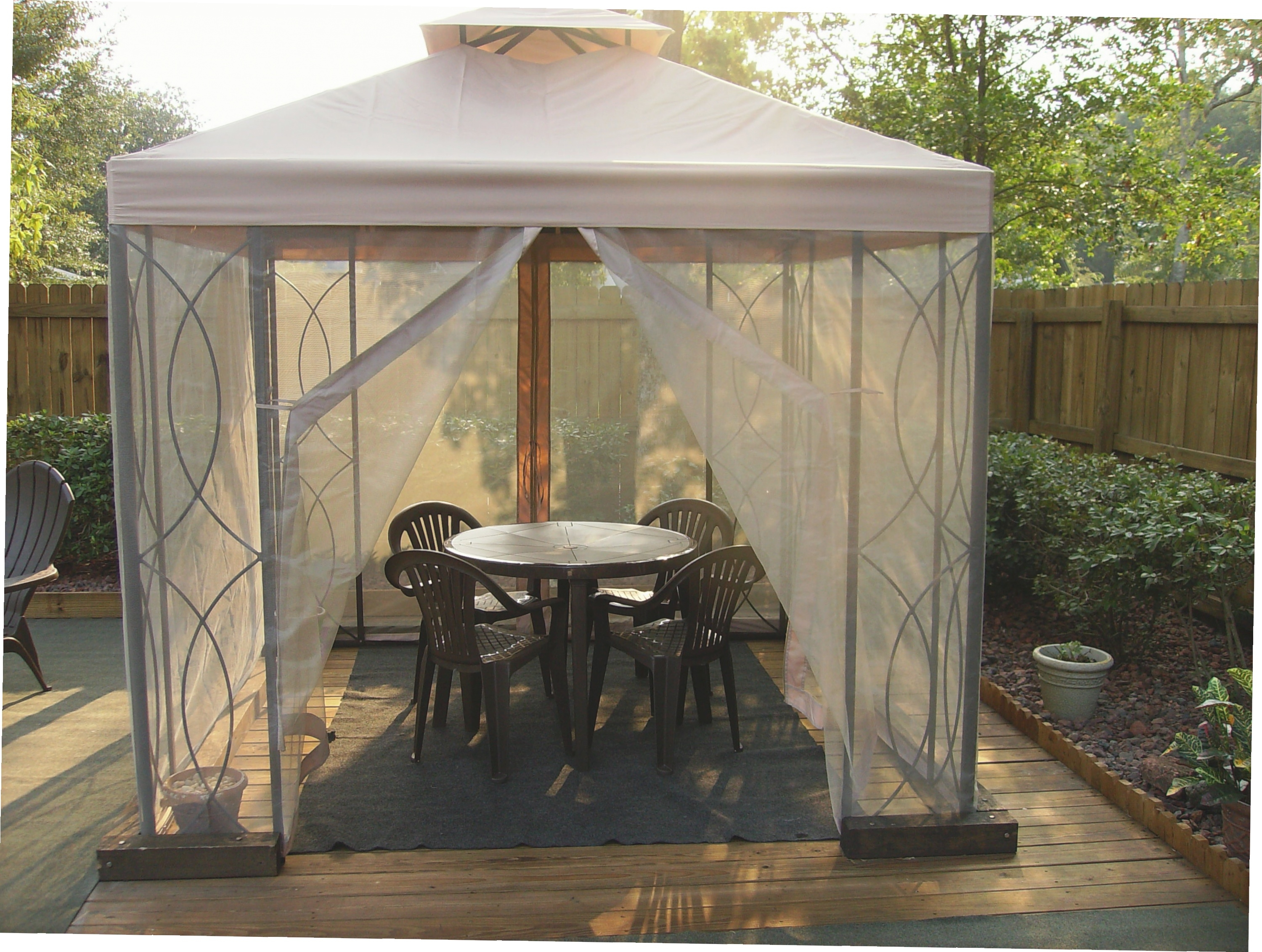 Screened Gazebo Kits | Gazebos Walmart | Screened Gazebo