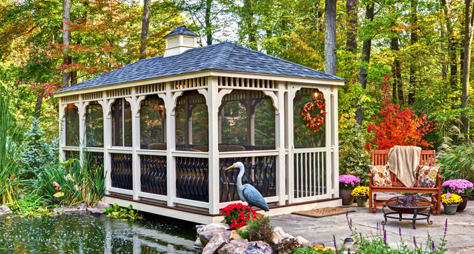 Screened Gazebo | Looking for Gazebos | Gazebo Screens