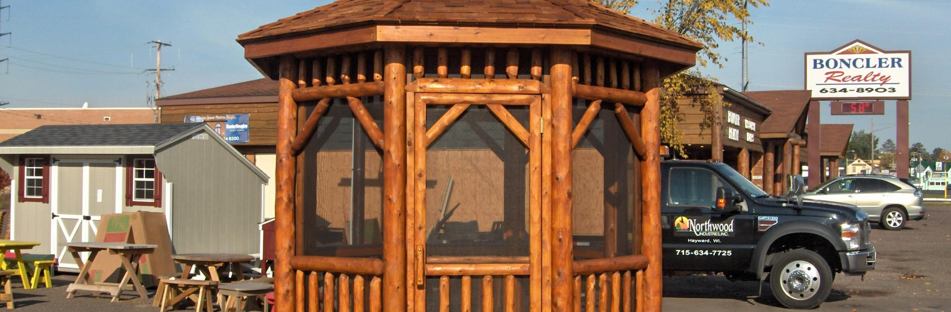 Screened Gazebo | Looking for Gazebos | Screened in Portable Gazebo