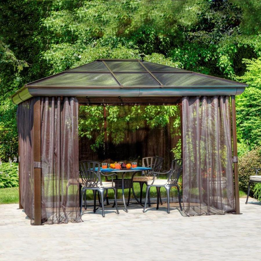 Screened Gazebo | Permanent Gazebo Kits | 8x8 Screen Gazebo