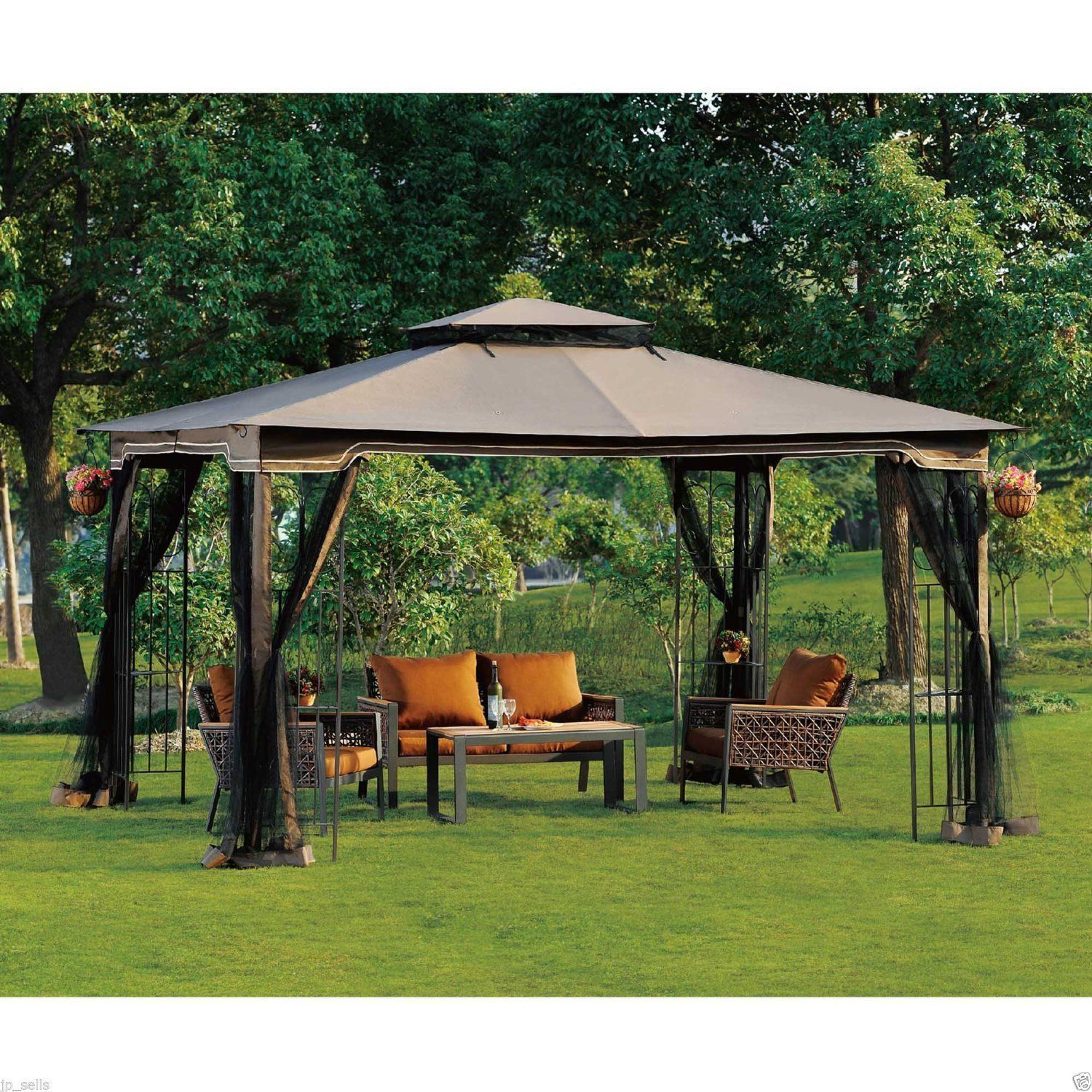 Screened Gazebo | Screen Gazebo Home Depot | 8x8 Screen Gazebo