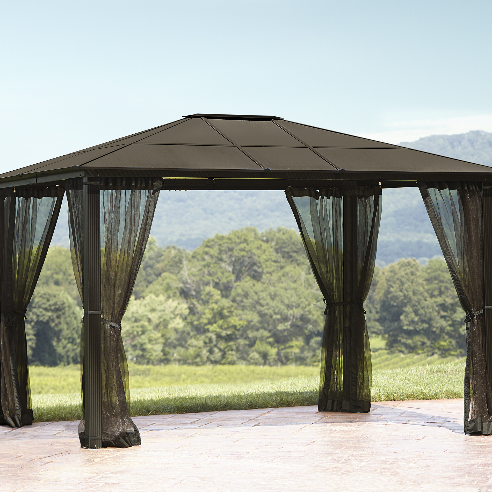 Screened Gazebo | Screen Tent Gazebo | Screened Pergola