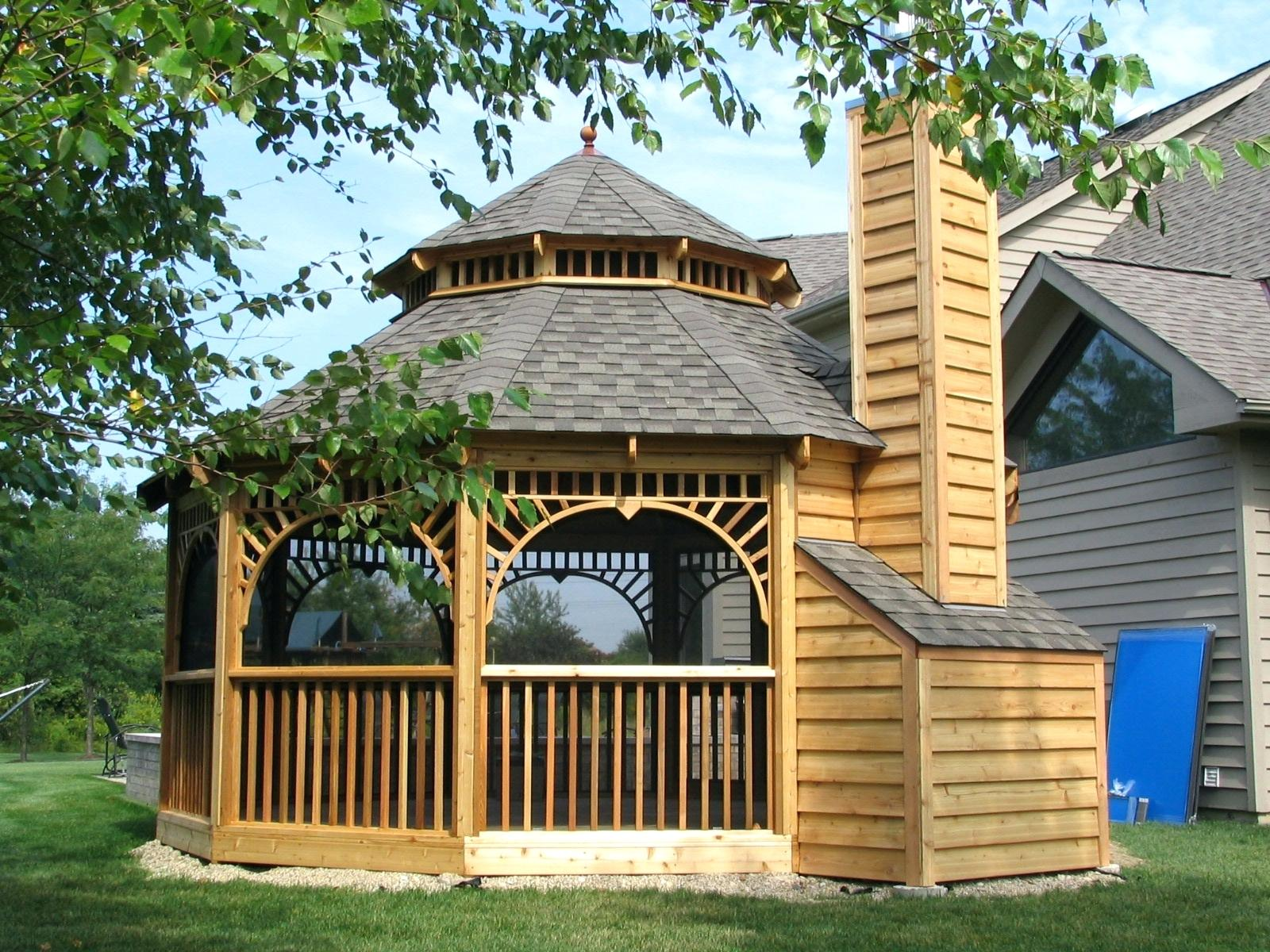 Screened Gazebo | Walmart Gazebos | Outside Gazebos