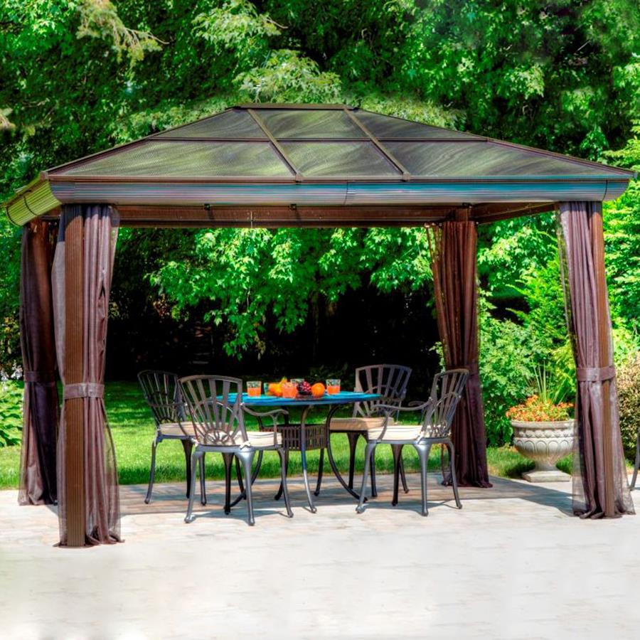Screened Pergola | Screened Gazebo | Gazebo Replacement Screen 10x10