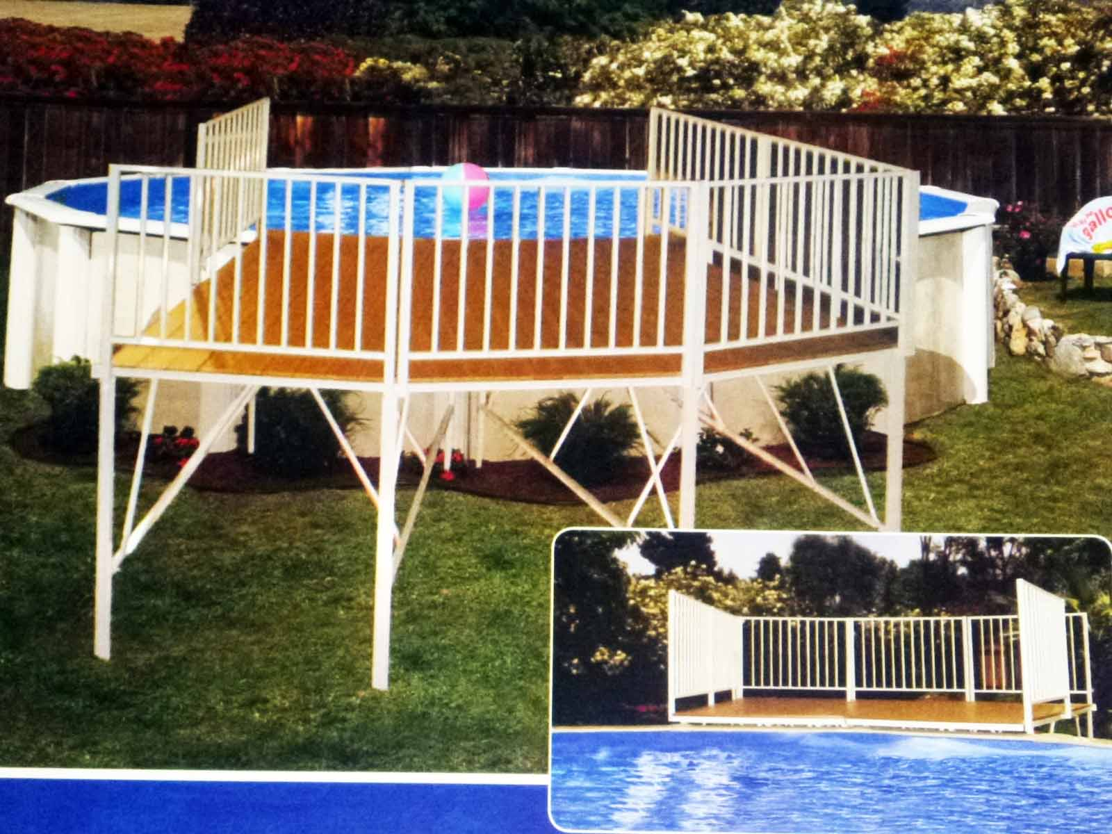 Semi Inground Pool Ideas | Above Ground Pools Tulsa | Semi Inground