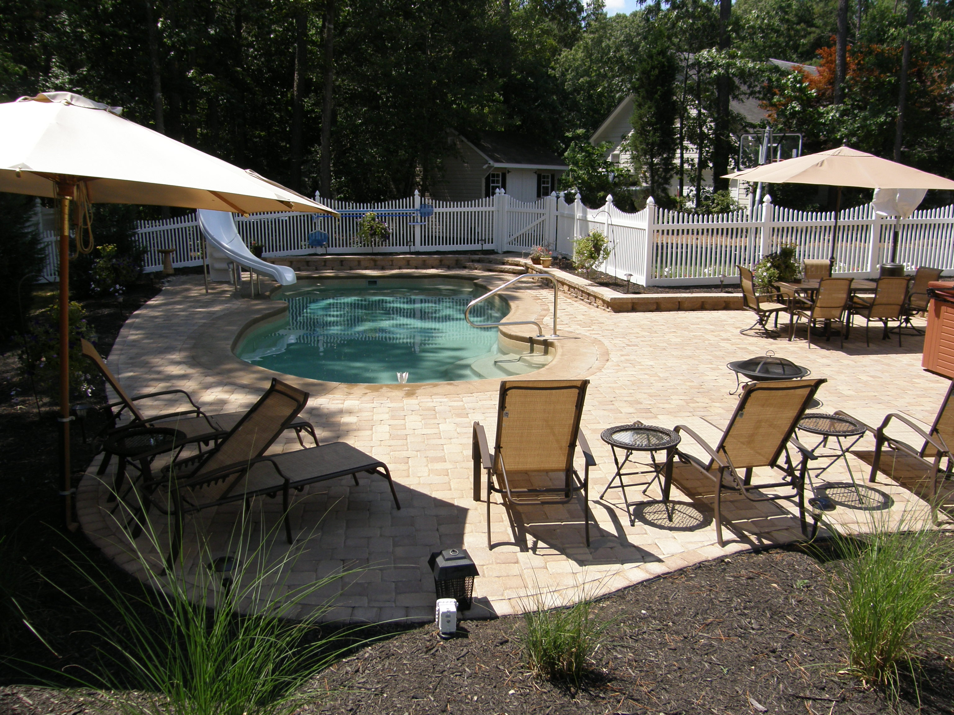 Semi Inground Pool Ideas | Above Ground Swimming Pool Ideas | Semi Inground Pool with Deck