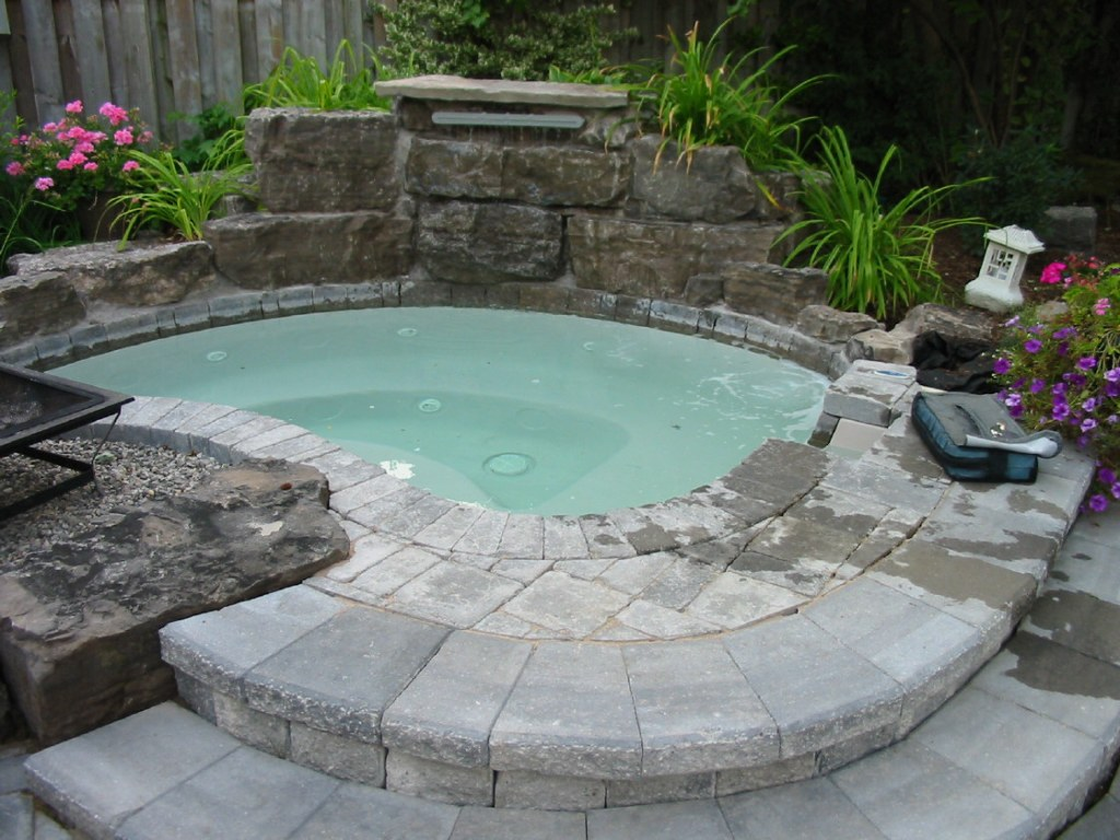 Semi Inground Pool Ideas | Buried Above Ground Pools | High End Above Ground Pools