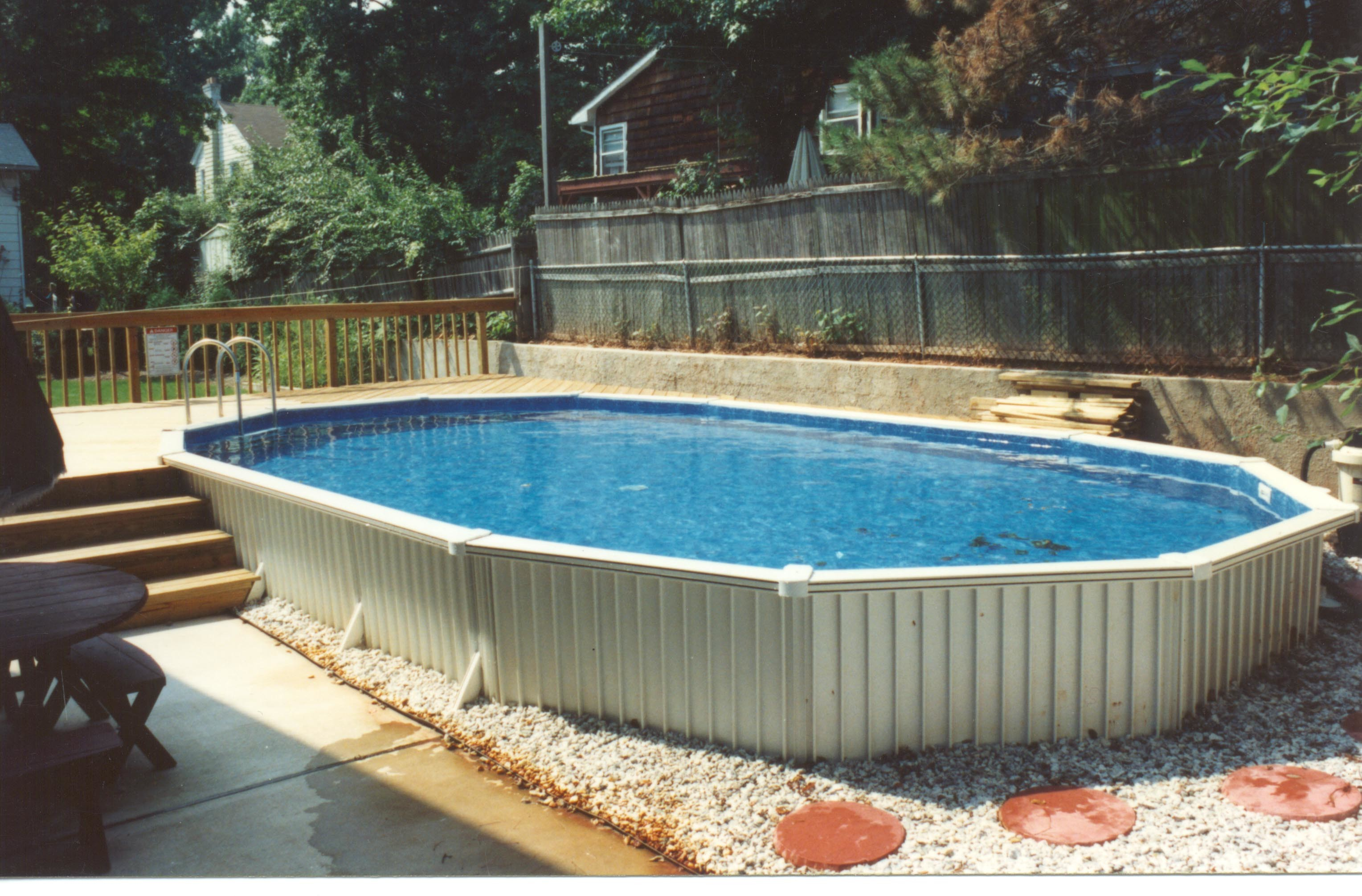 Semi Inground Pool Ideas | Cost of Radiant Pools | Semi Above Ground Pools Nj