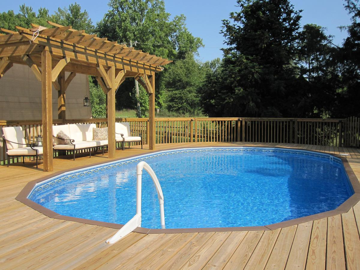Semi Inground Pool Ideas | Semi Inground Pool Reviews | Above Ground Pools Prices