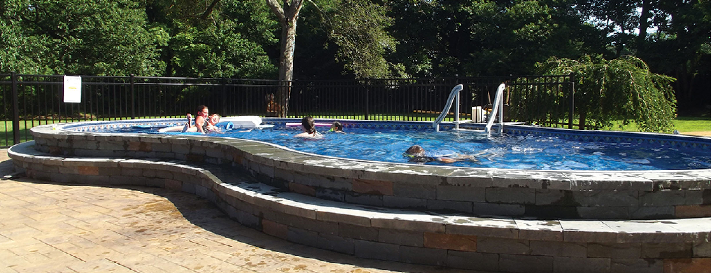 Semi Inground Pool Ideas | Semi Inground Pools Nj | Deepest Above Ground Pool