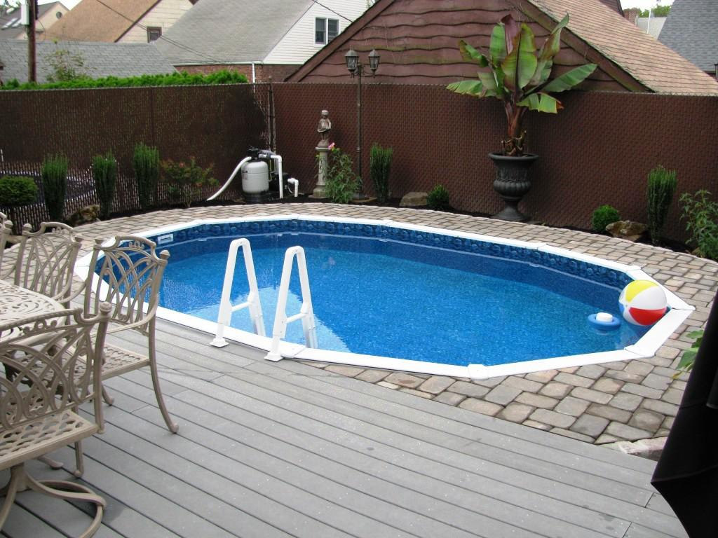 Semi Inground Pool Ideas | Semi Inground Pools Reviews | Semi Inground Pool Installation