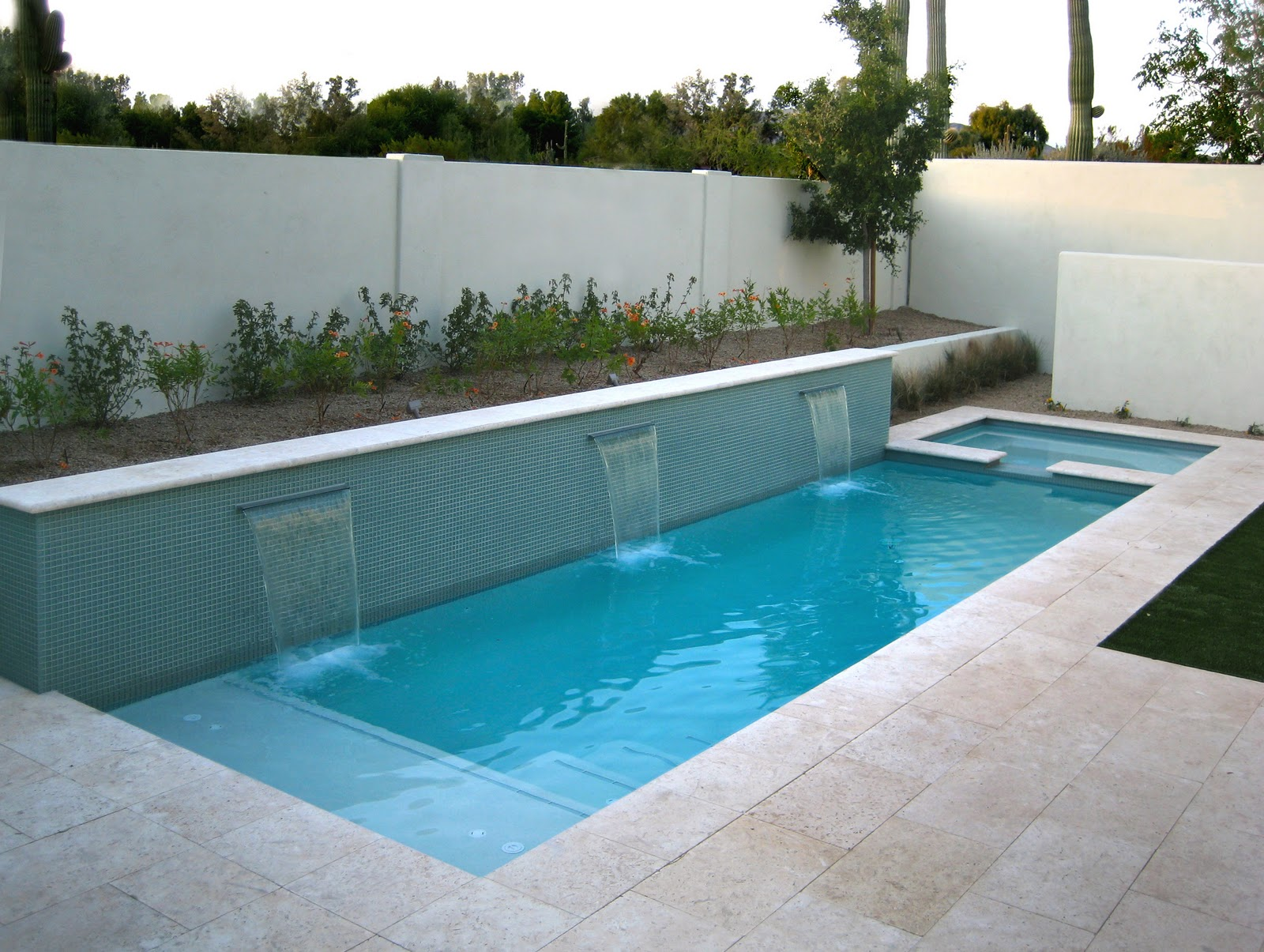 Semi Inground Pool Kits | Semi Above Ground Pools | Semi Inground Pool Ideas