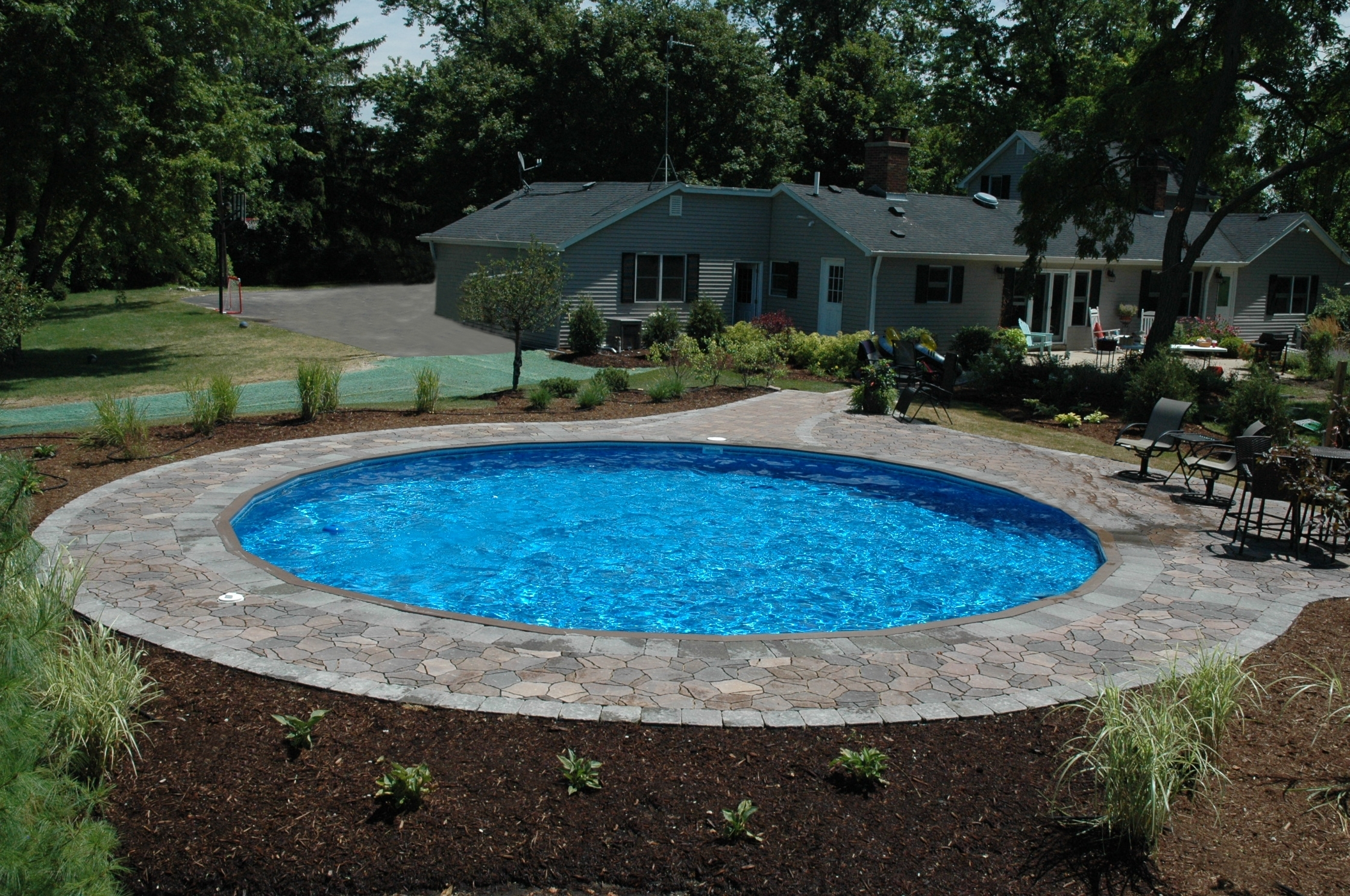 Semi Inground Pools Cost | Best Semi Inground Pool | Semi Inground Pool Ideas