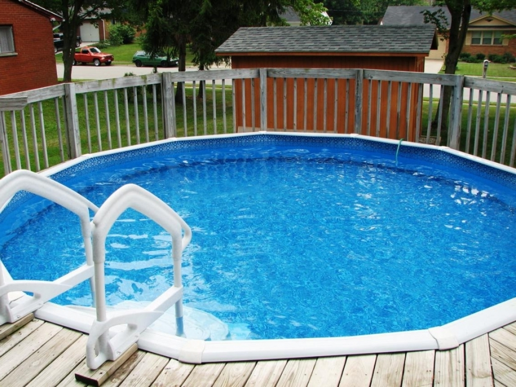 Semi Inground Pools for Sale | Above Ground Inground Swimming Pools | Semi Inground Pool Ideas