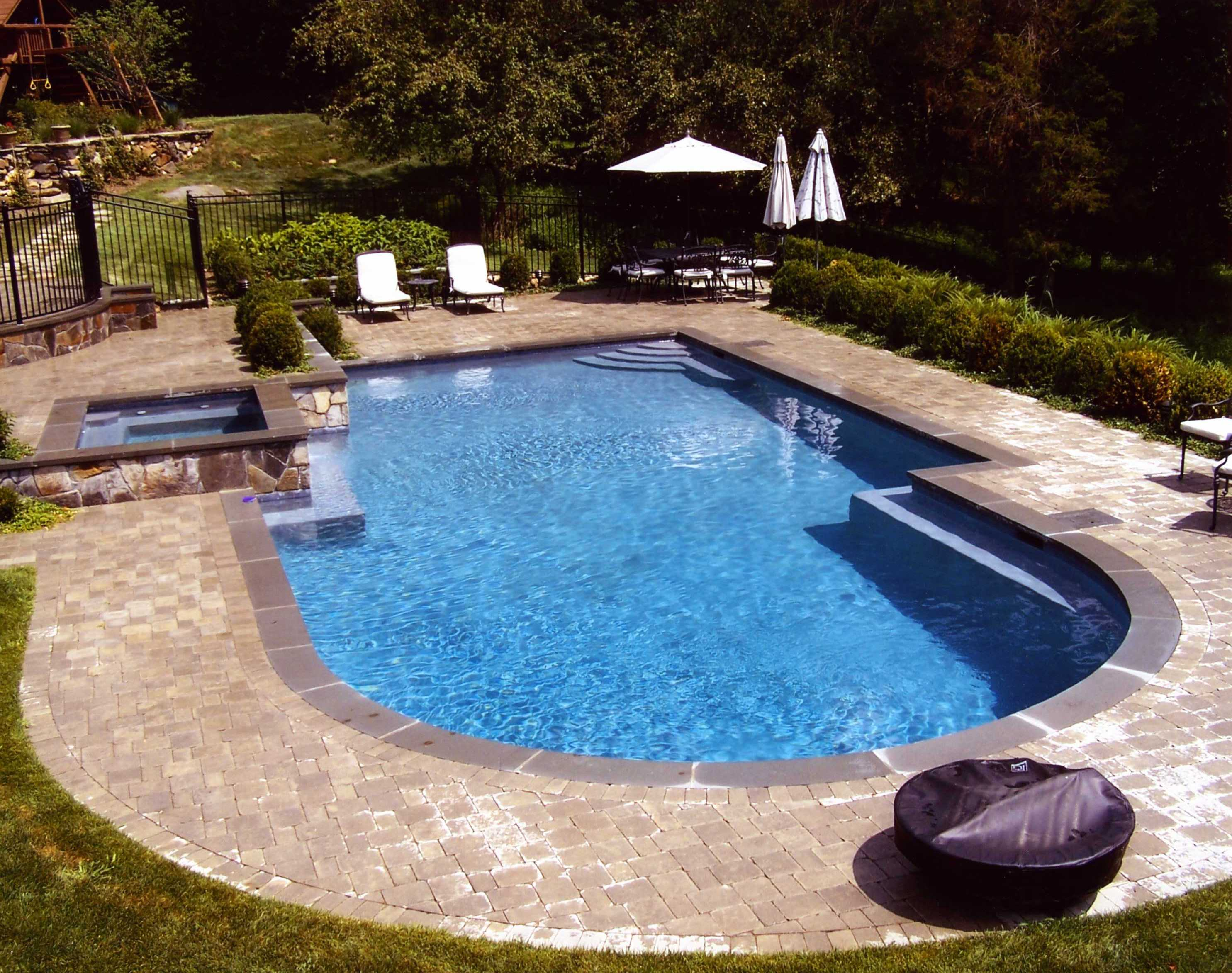 Semi Inground | Semi Inground Pool Ideas | Buried Above Ground Pools