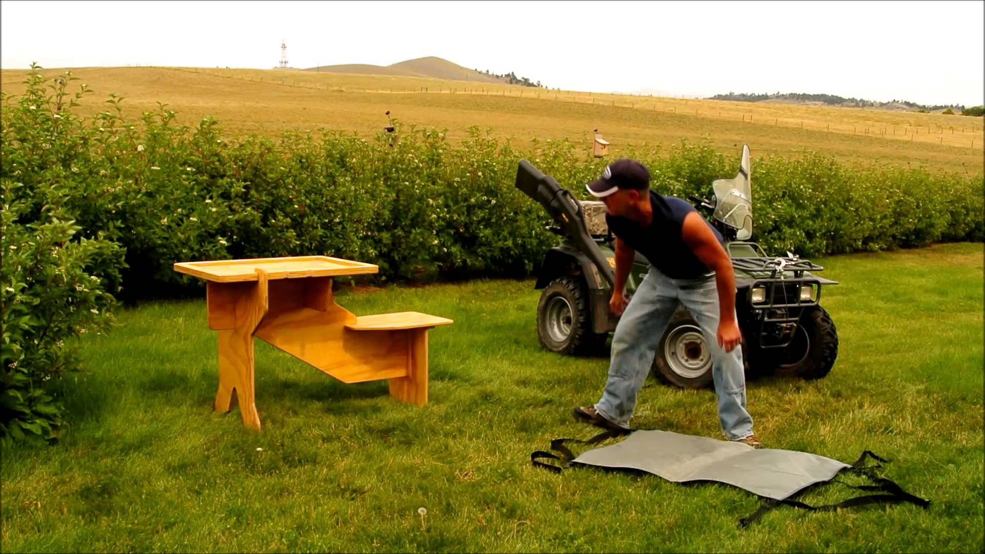How to Build A Shooting Bench with Precision Point: Shooting Vise Plans | Concrete Shooting Bench | How To Build A Shooting Bench