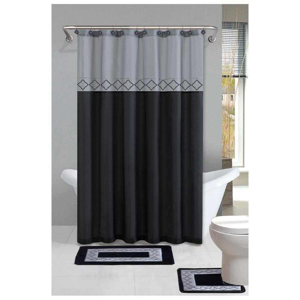 Shower Curtains for Clawfoot Tubs | Clawfoot Tub Shower Curtain | Claw Tub Shower Curtain Rod