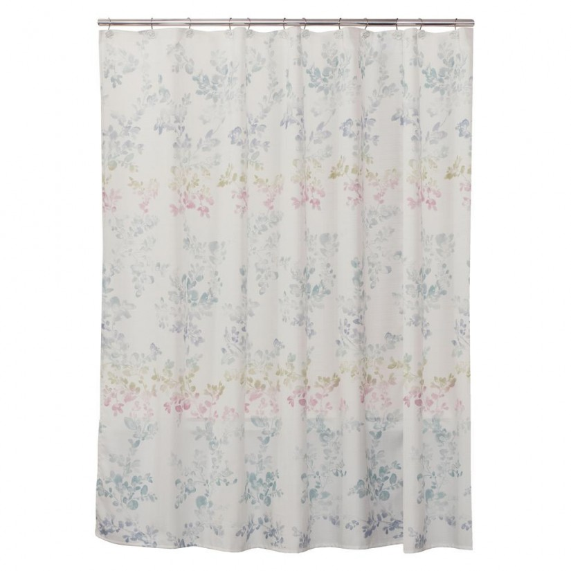 Shower Curtains With Flowers | Floral Shower Curtain | Shower Curt