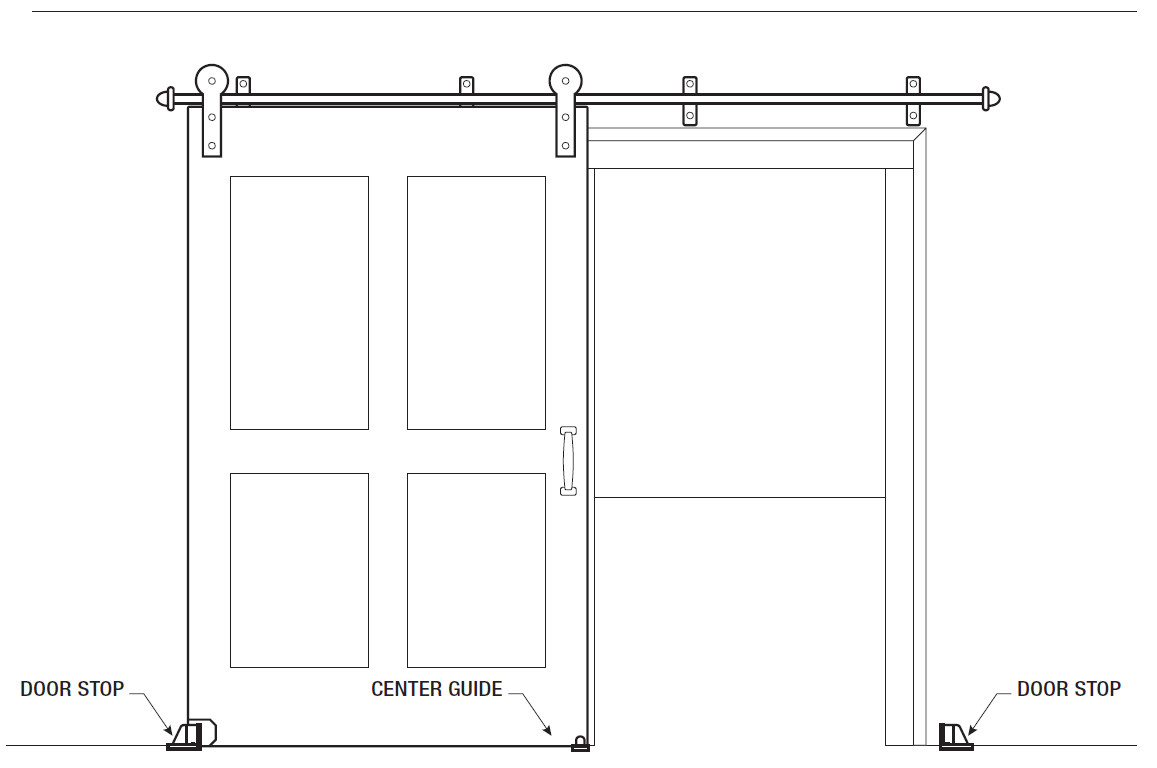 Sliding Door Kits | Door Slider Kit | Bypass Barn Doors