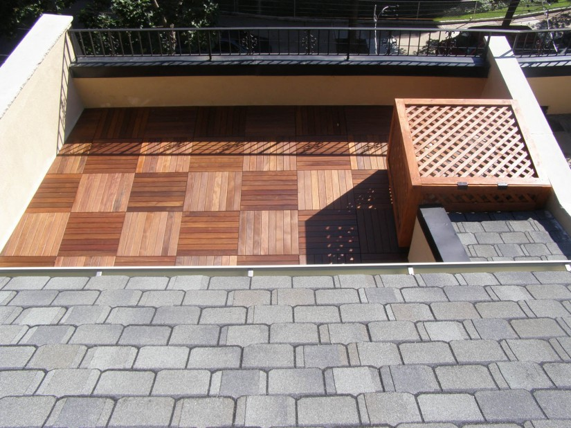 Snap Together Decking Tiles | Snapping Deck Tiles | Ipe Deck Tiles