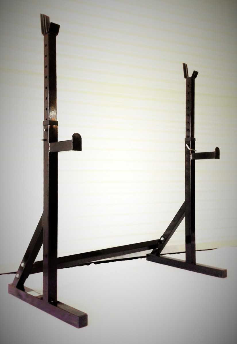 Squat Rack With Olympic Bar | Squat Rack For Sale | At Home Squat Rack
