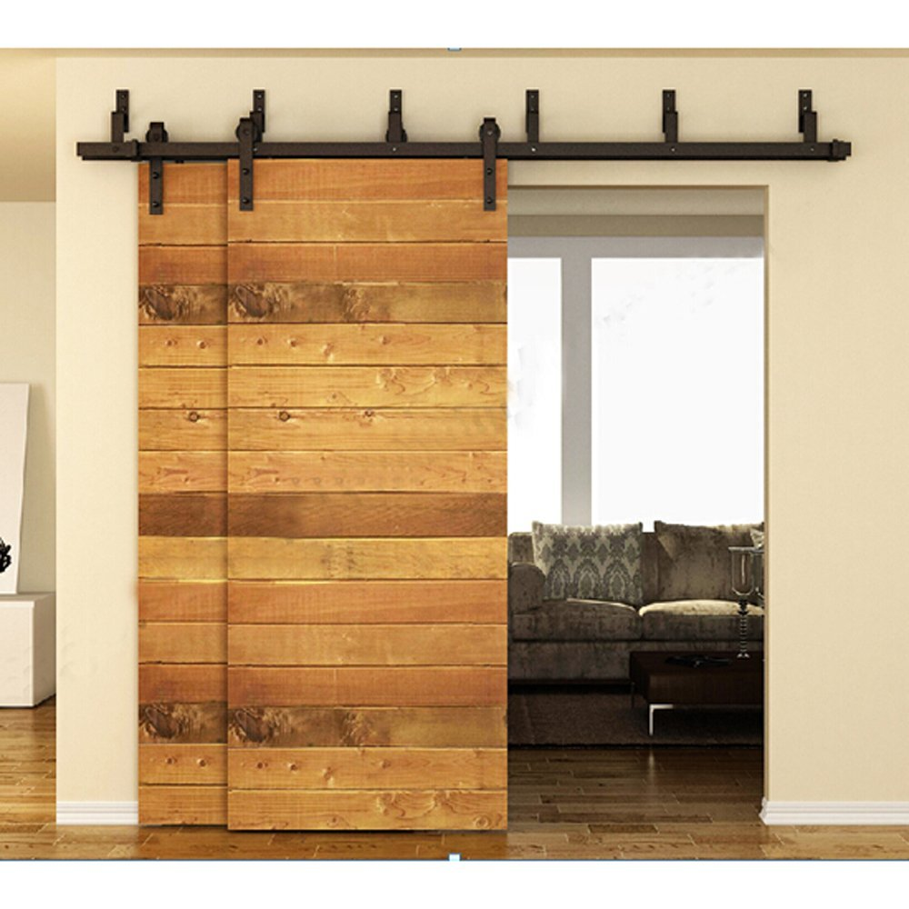 Steel Sliding Door Hardware | Bypass Barn Doors | Bypass Sliding Barn Doors