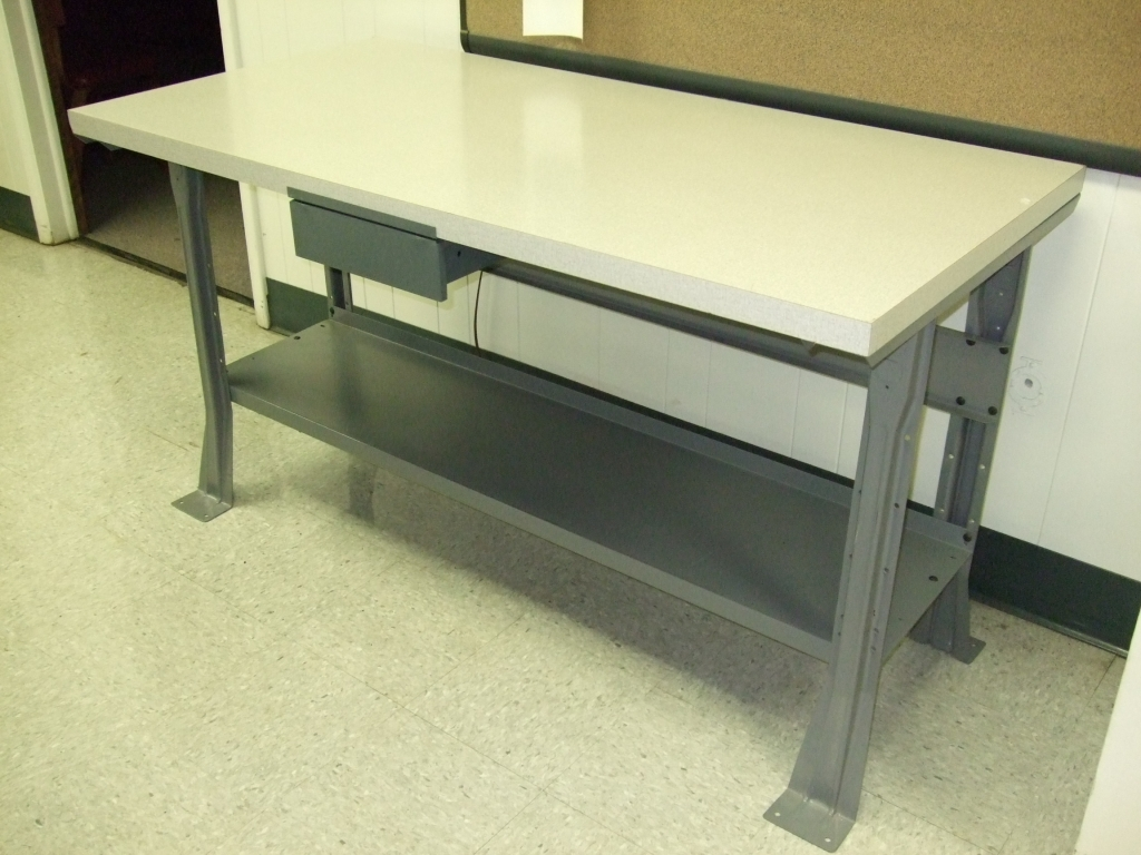 Steel Workbench for Sale | Metal Workbench Drawers | Metal Workbench