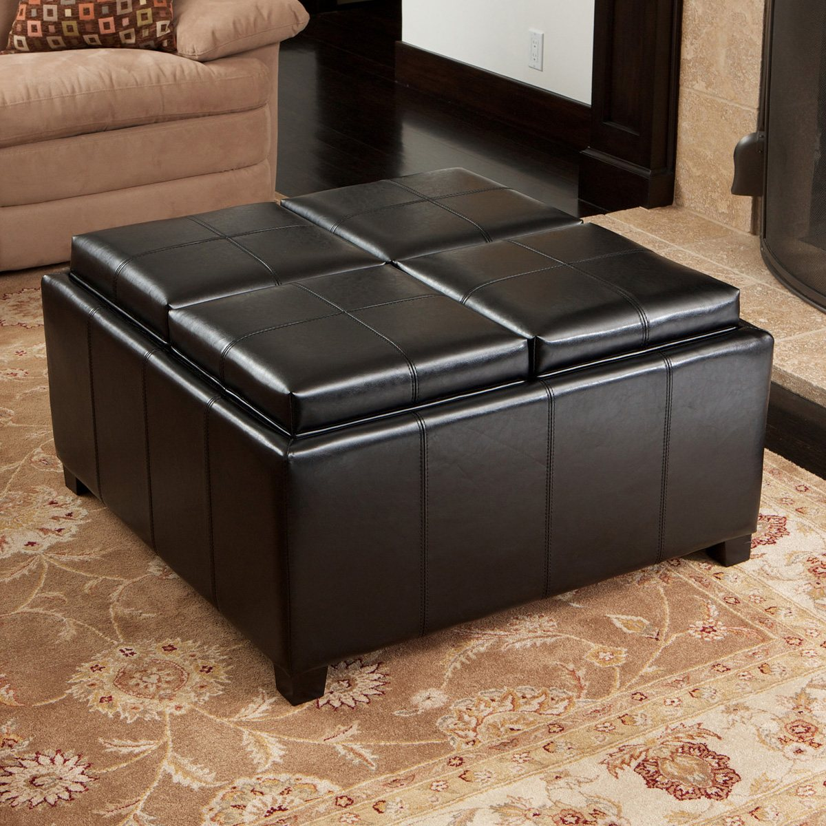 Storage Cube Ottoman | Cheap Storage Ottoman Bench | Storage Seating Cubes