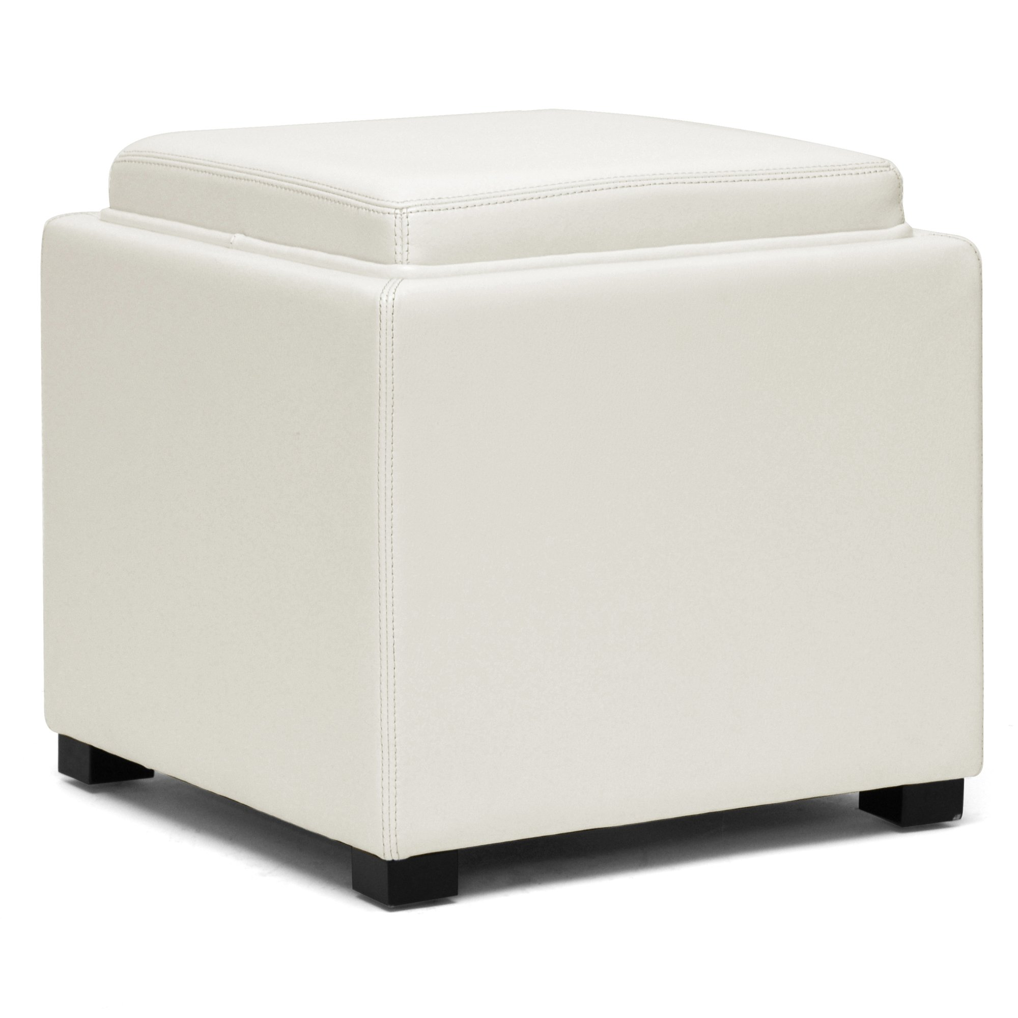 Storage Cube Ottoman | Cube Ottomans | Upholstered Ottoman Cube
