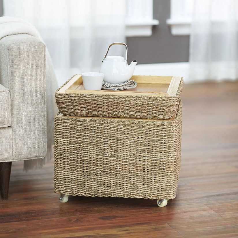 Storage Cube Ottoman | White Cube Ottoman | Cube Foot Stool