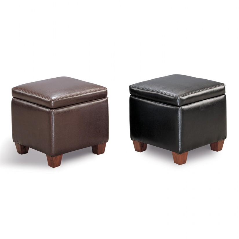 Storage Ottomans For Sale | Storage Cube Ottoman | Small Footstool With Storage