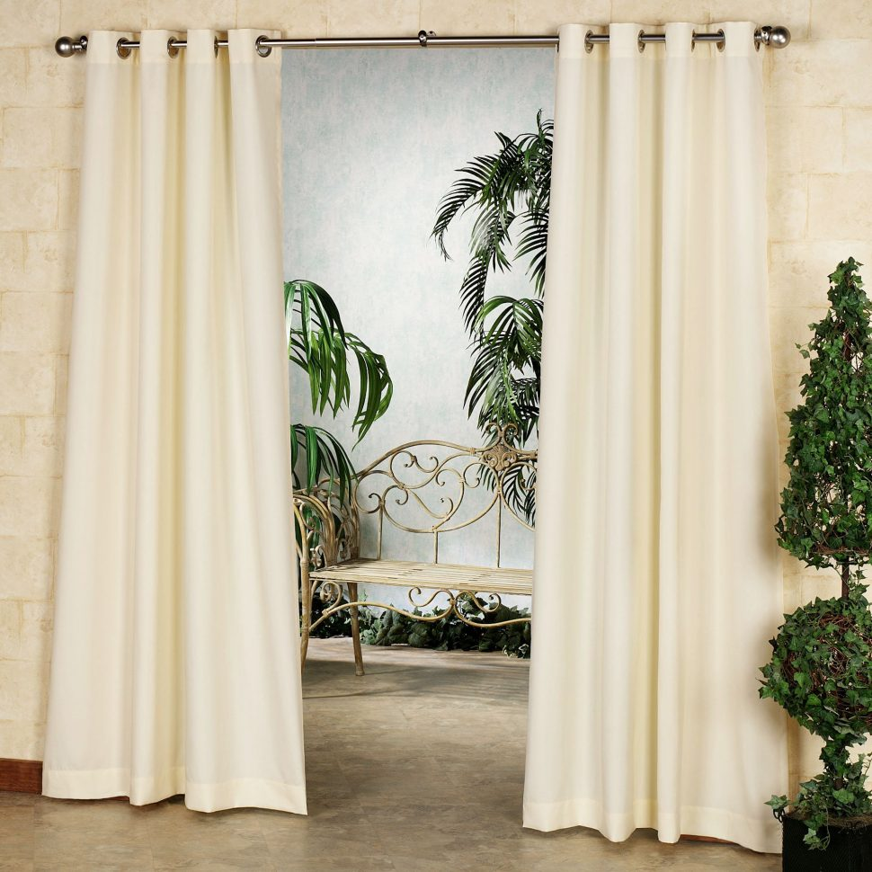 Sunbrella Cusions | Sunbrella Curtains | Outdoor Drapes 120 Inches Long