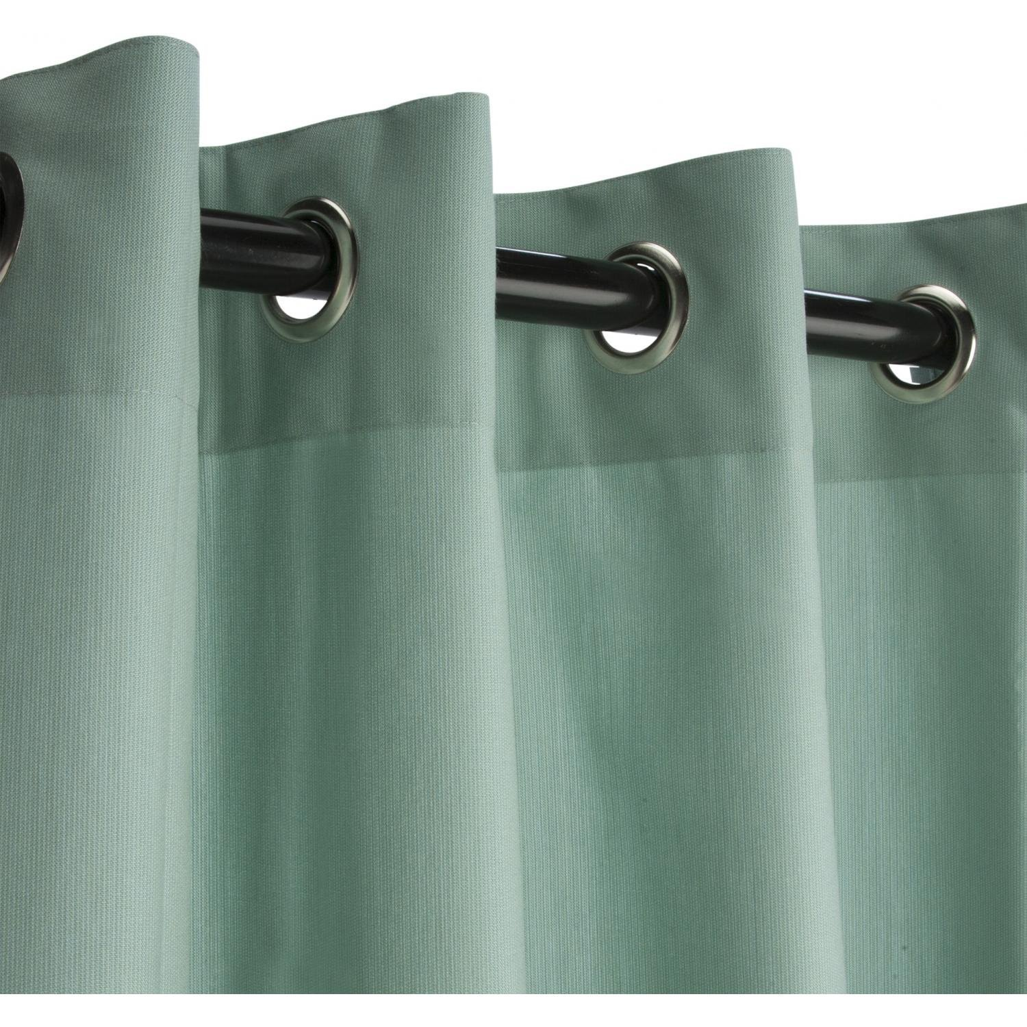 Sunbrella Outdoor Shower Curtains | Sunbrella Curtains | Sunbrella Fabric Pillows