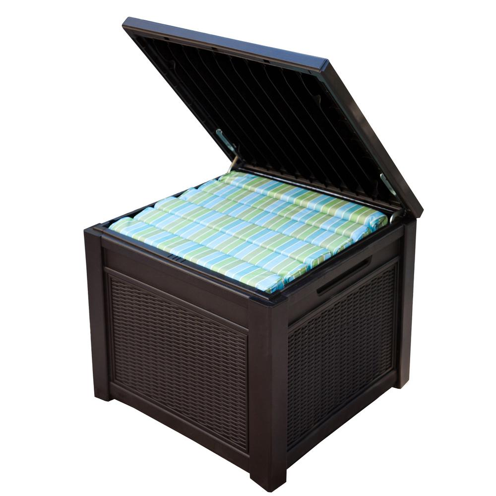 Suncast Patio Storage Box | Watertight Deck Box | Keter 150 Gallon Deck Box