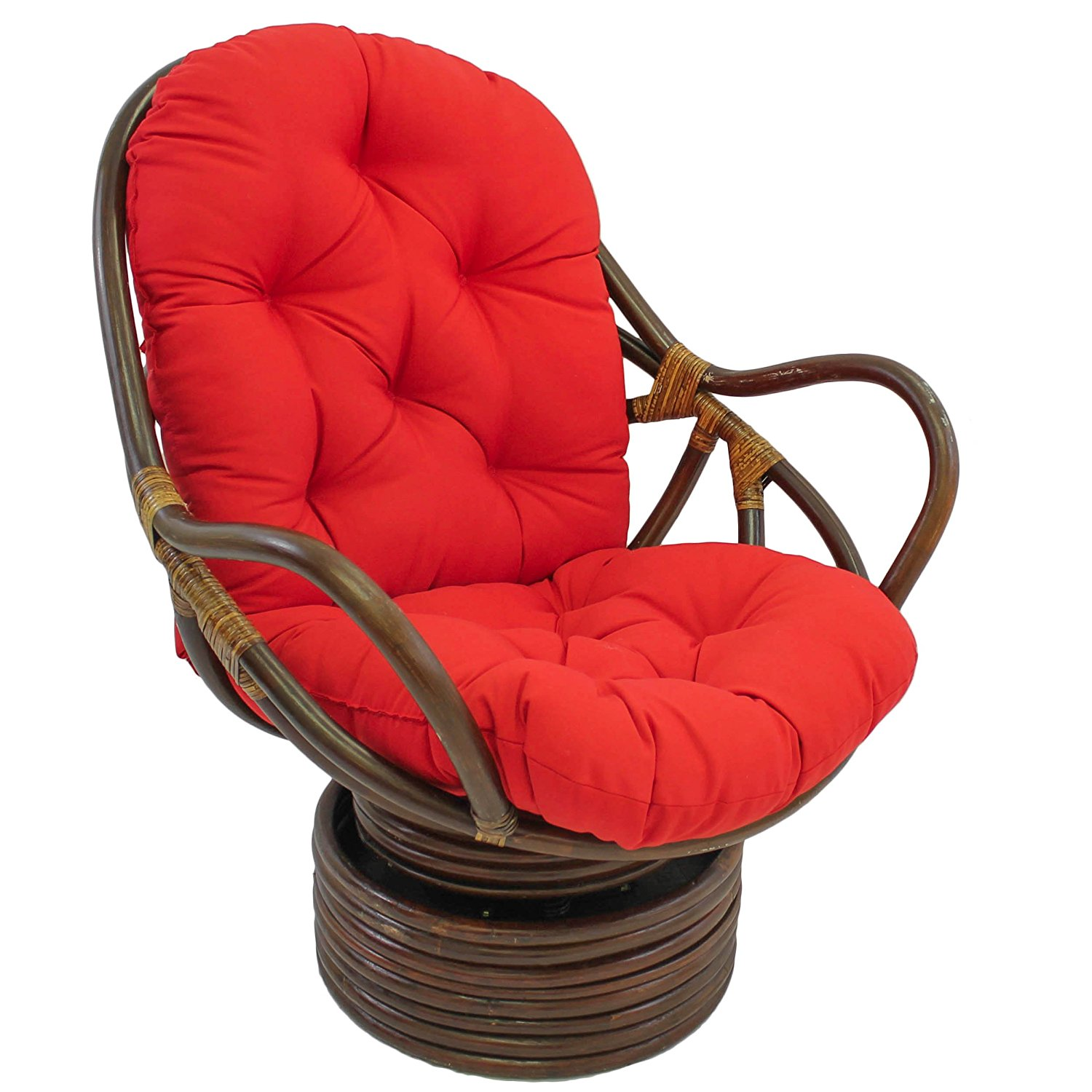 Swivel Chair Cushions | Rattan Swivel Rocker | Outdoor Wicker Swivel Rocker Chair
