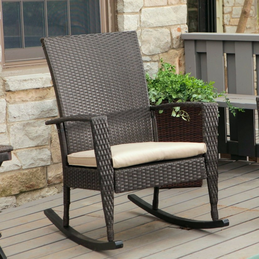 Swivel Rattan Chair | Rattan Swivel Rocker | Papasan Swivel Rocker