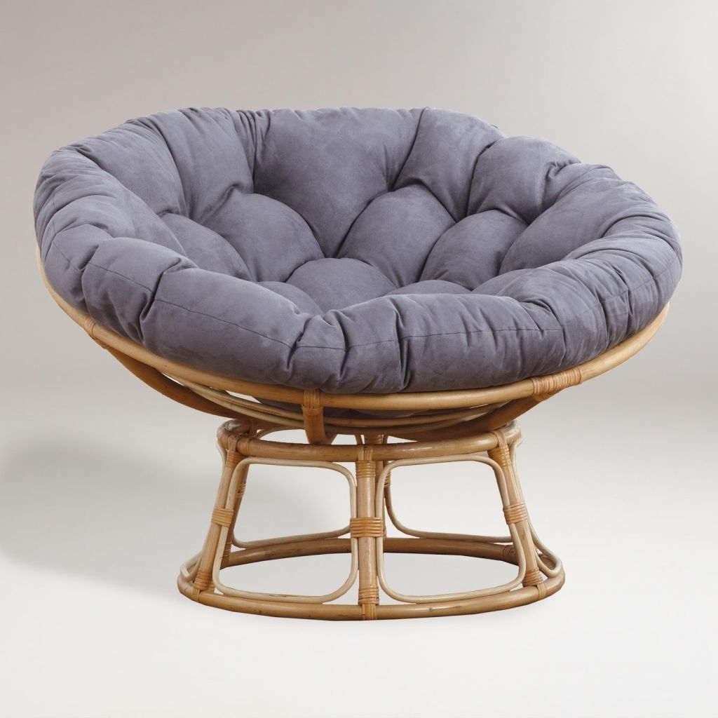 Swivel Rocker Cushion | Papasan Swivel Rocker Cushion | Rattan Swivel Rocker