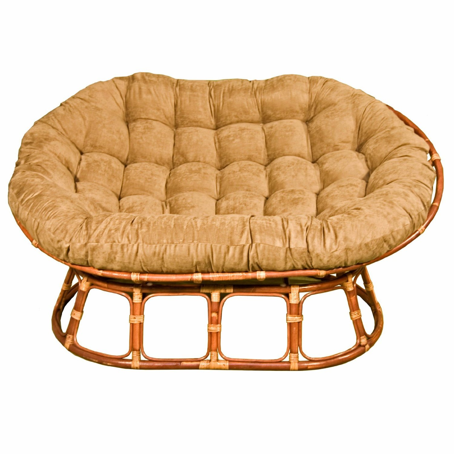 Swivel Rocker Cushion | Rattan Swivel Rocking Chair | Rattan Swivel Rocker