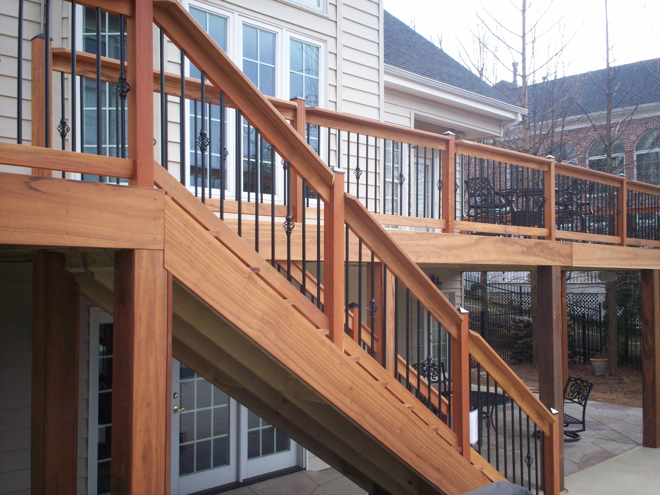 Synthetic Deck Boards | Composite Material for Decks | Tigerwood Decking