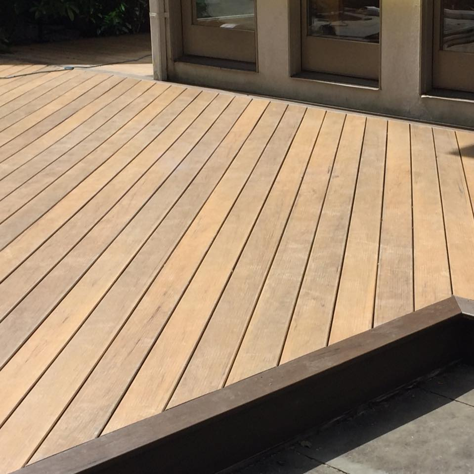 Synthetic Wood Decking | Artificial Wood Decking | Tigerwood Decking